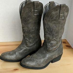 Rampage grey boots LIKE NEW!